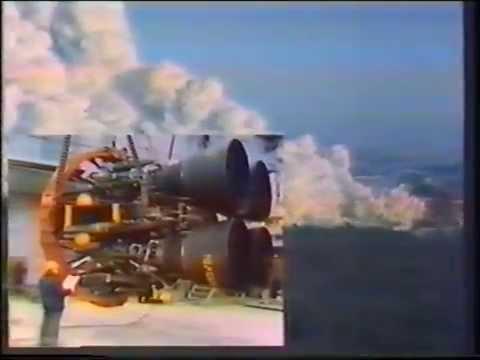 Испытания двигателя РД - 170 (11Д520). 1984