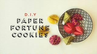Qanvast DIY: Fortune Cookie Video