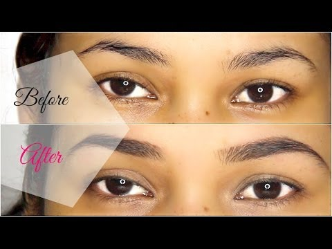 How To Shape and Wax Your Eyebrows at Home - MissLizHeart