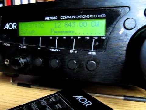 HLO Seoul Radio on 12843 kHz received in Germany