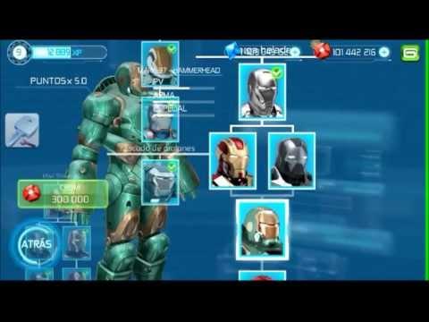 Iron Man 3 El juego oficial HD 1.0.4 Armaduras Android Xperia Play