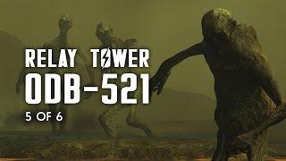 Relay Tower 0DB-521 - Raider Cave, Sunken Church, & Crashed Flight 1665 - Fallout 4 Lore