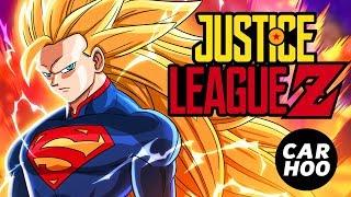 Justice League + Dragon Ball Z ( Fans Animation Superheroes Parody )