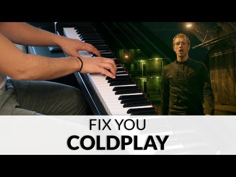 Coldplay - Fix You   Piano Cover