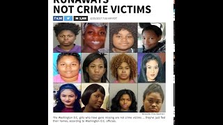 Missing black girls in DC spark outrage~The D.C. media claims they're just