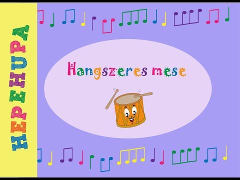 Hangszeres mese - Hepehupa mesék (babamesék)