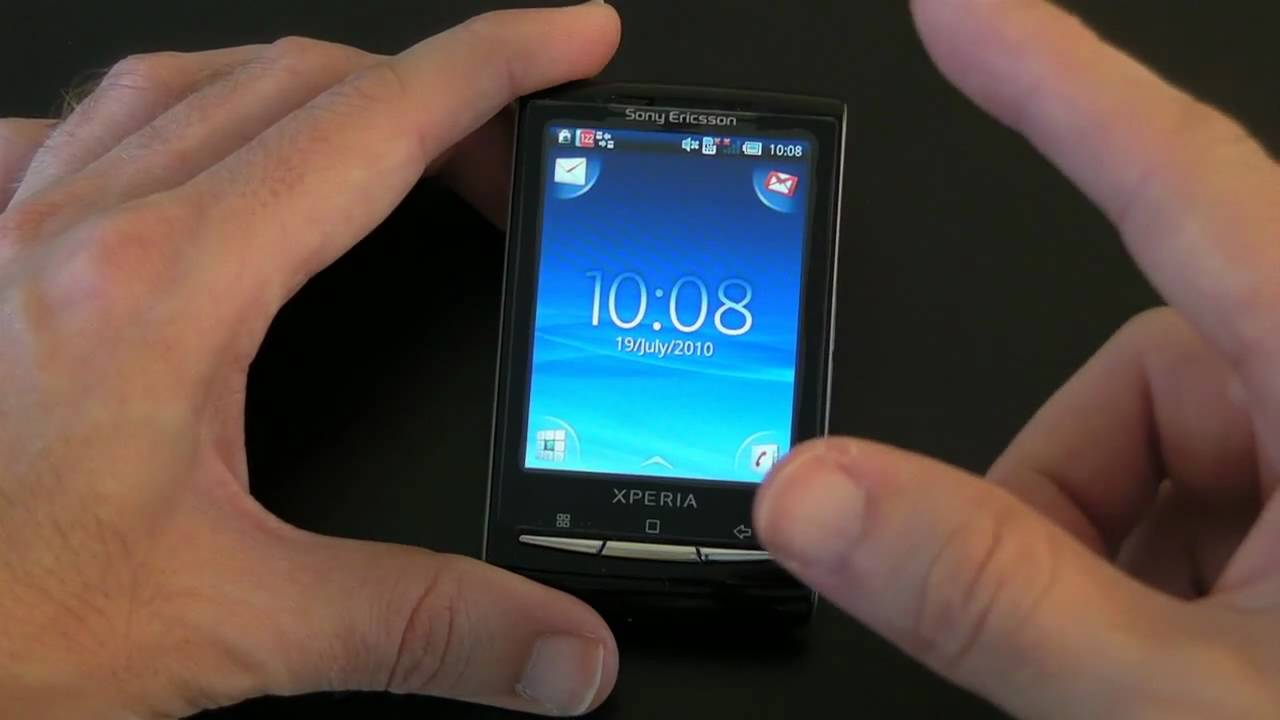 Sony Ericsson Xperia X10 Mini Mobile Phone Unboxing