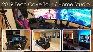 2019 Tech Cave Tour / Home Studio Setup