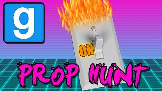 THE HEAT IS ON! (Gmod Prop Hunt Funny Moments)