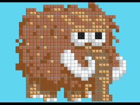 Used Mac Mini >> Growtopia - Mammoth Pixel Art - YouTube
