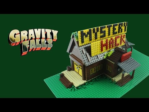 Gravity Falls - The Mystery Shack (Lego Replica)