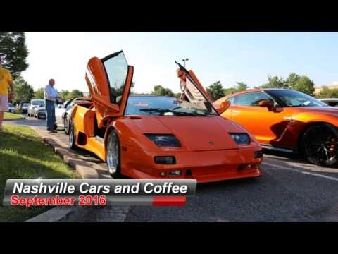Nashville Cars and Coffee Sept 2016 with Select Drive Outs
