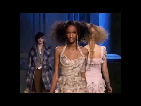 Dior Runway Fashion Show 2010 Part 1