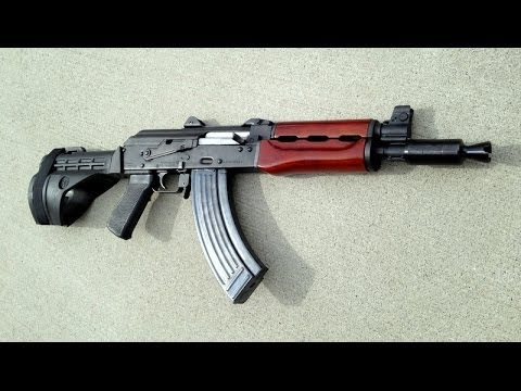 M92 PAP Zastava AK Pistol SB-47 Stabilizing Brace Custom Finish Combloc Customs Krinkov Yugo