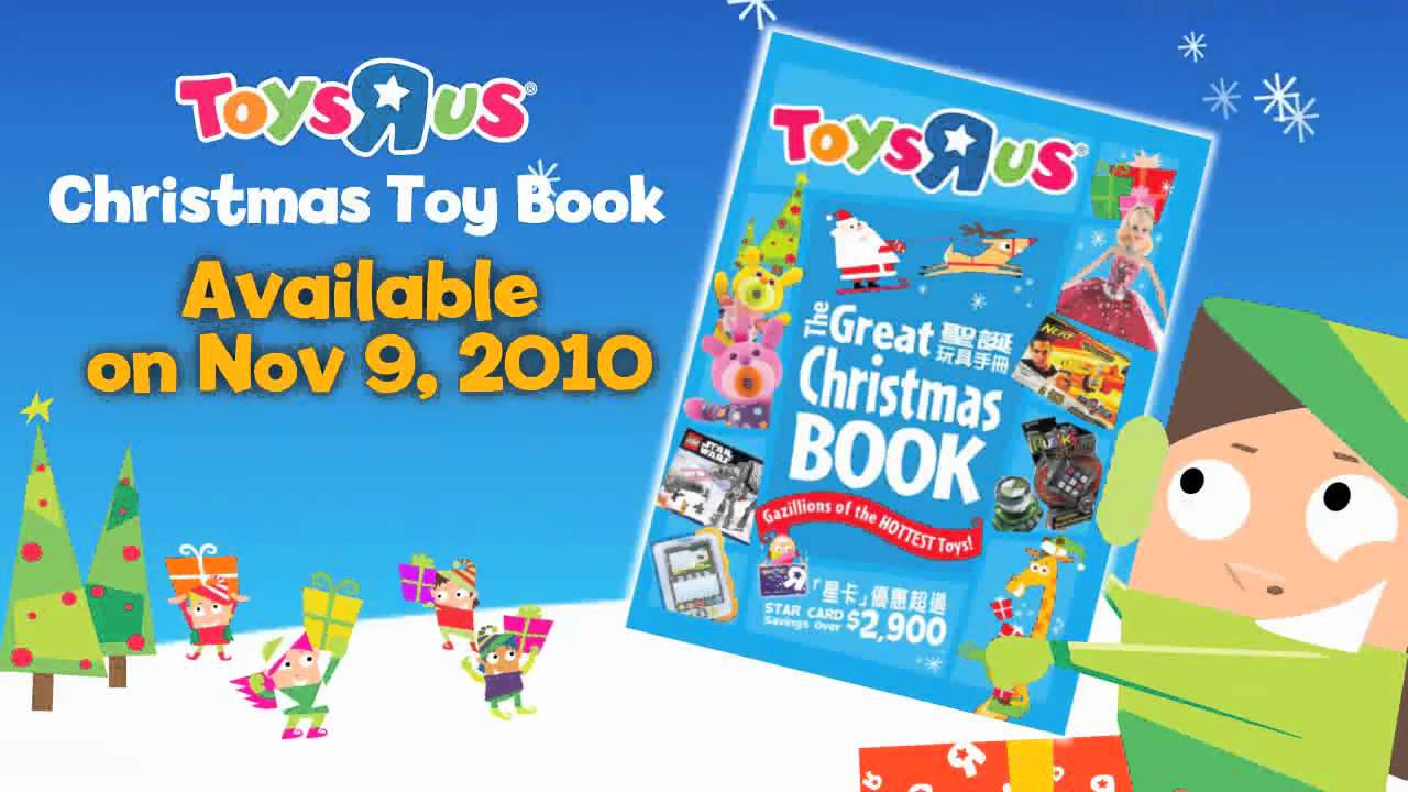 Toys R Us Christmas Toy Book - Coming Soon