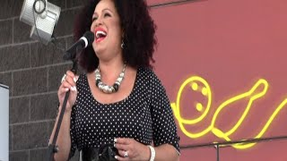Christine Anu Performing Live at Westpoint Shopping Centre, Blacktown Sydney Australia 22/11/14