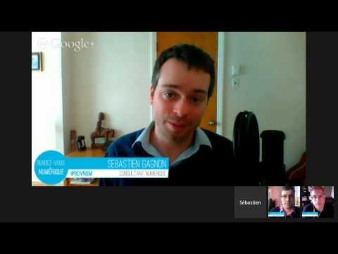 Rendez-vous Numérique 13 : actu médias sociaux et discussion autour de Google+