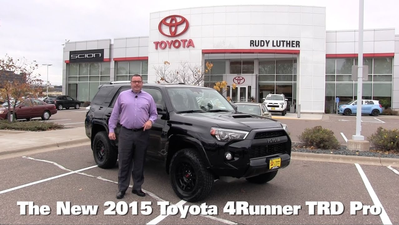 The New 2015 Toyota 4runner Trd Pro Minneapolis St Paul