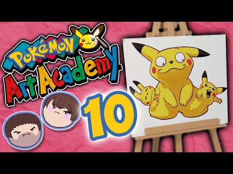 Pokemon Art Academy: Drawing a Blank - PART 10 - Grumpcade