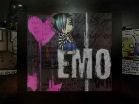 cute emo cartoons