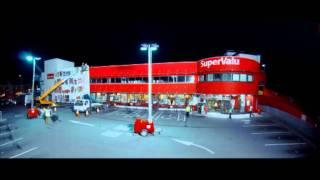 Bull in Supermarket - Cummins  SuperValu Ballinrobe Co. Mayo