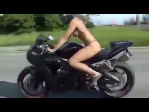 Мотоприколы - свежачок (2016). Подборка приколов с мотоциклистами