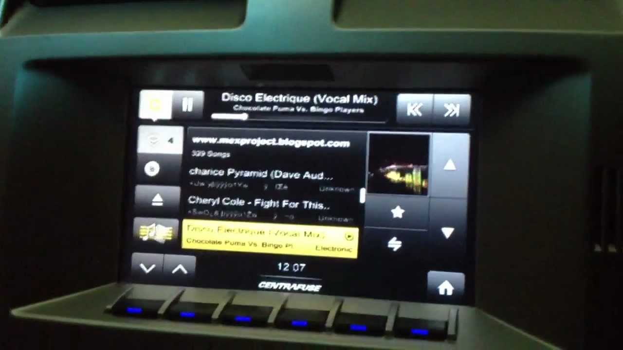 Ford Falcon Xr6 Premium Icc Touch Screen Overlay