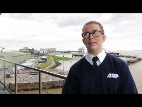 Keeta Rowland, Marine Operations Apprentice at AB Ports, Immingham, Grimsby