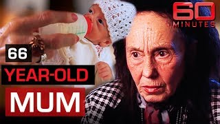 World's oldest first-time mum | 60 Minutes Australia
