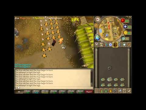 Runescape – Double Firemaking guide With Pyrelord 550-600k xp/h