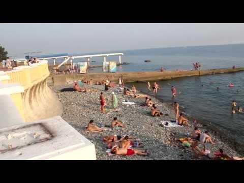 [HD] Побережье Чёрного моря в Сочи / Black Sea Coast In Sochi (2010)