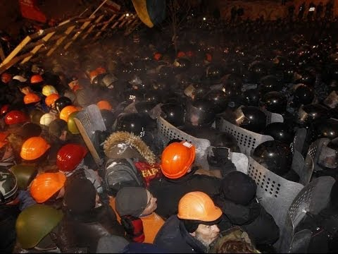 Kiev Ukraine Protests | War Still Goes On | 100 DEADS 2014 | | Update Video