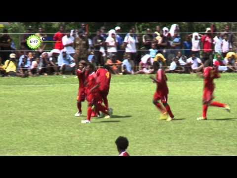 2013 OFC U 17 Championship Day 2 Cook Islands vs Papua New Guinea Highlights