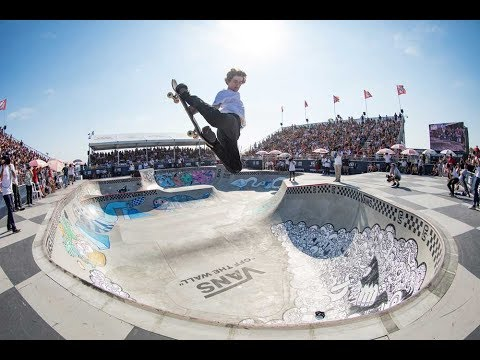 1st Place Run, Tom Schaar 91.69 | Huntington Beach, 2017 Pro Tour | Vans Park Series