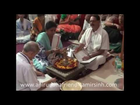 Shree Rudrabhishek seva at Shree Aniruddha Gurukeshetram - 21 July 2014