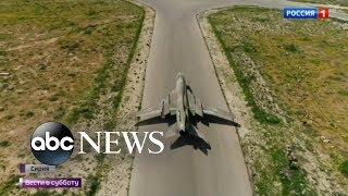 Russia warns US about possible Syria strike