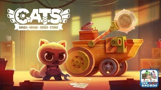 CATS: Crash, Arena, Turbo, Stars - Secret to Best Battle Bot: No Wheels (iOS/iPad Gameplay)