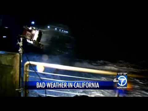 Wild storm soaks California, thousands lose power