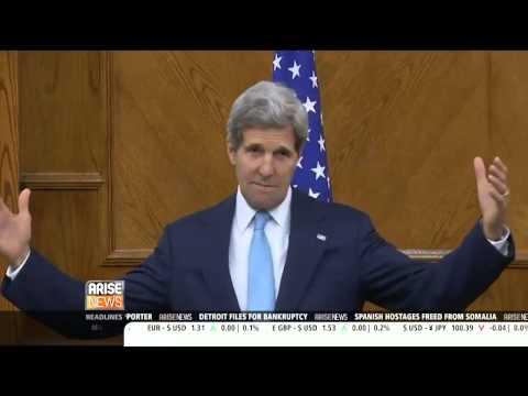 The Beast : John Kerry announces restart of direct Israeli / Palestinian Peace Talks (Jul 19, 2013)