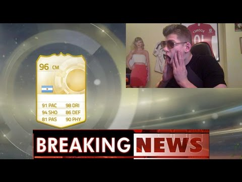 BREAKING NEWS A NEW LEGEND? - FIFA 15 HUGE PACK OPENING!!