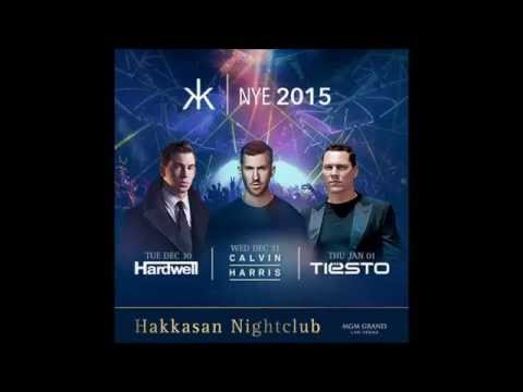 HAKKASAN New Years Eve line-up release Hardwell, Calvin Harris Tiesto 2014-2015 Las Vegas MGM Grand