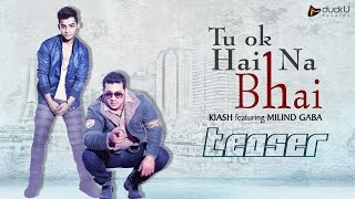 Teaser - Tu Ok Hai Na Bhai | Milind Gaba Feat. Kiash | Latest New Punjabi Songs 2015