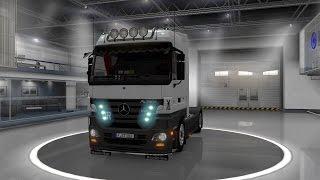 Euro Truck Simulator 2 обзор мода ( Mercedes MP2 V8! Обновление V.4 )