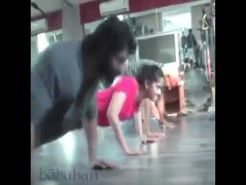 Bahubali workout video