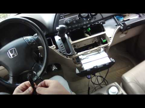 [Autos] USA SPEC BT35-HON Honda Bluetooth installing the honda odyssey 2006 model