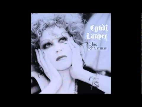 Cyndi Lauper Christmas Morning Blue Christmas Cyndi Lauper