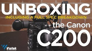 Canon C200 | Unboxing & Overview