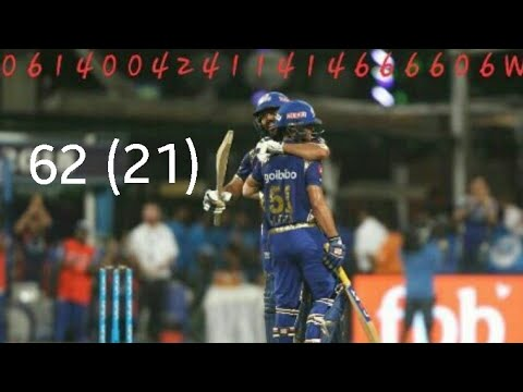 Ishan Kishan Left Hand version of MS Dhoni - 62 of 21 balls - KKRvsMI - IPL11  - twitter HIGHLIGHT