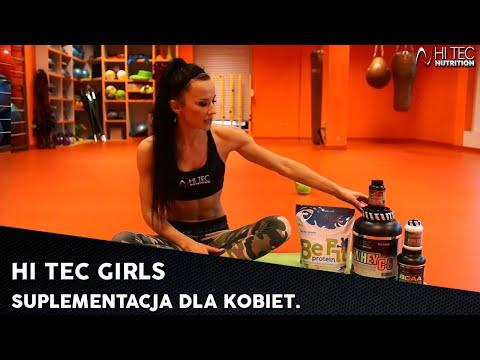 HI TEC GIRLS - Suplementacja Dla Kobiet