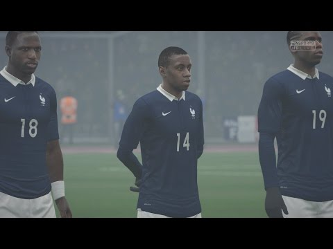 EA SPORTS FIFA 16 - France v Germany Gameplay [1080p 60FPS HD]